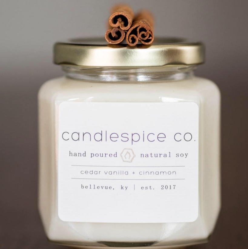 CANDLESPICE CO. - Sense of smell is one of the most powerful senses to have, it can be one of the best ways to intrigue your memory. Not only is the smell of our candles important to us, but the fact that our candles are truly made with an all-natural US grown soy wax, a metal-free all-natural cotton wick, and a combination of fine fragrance and natural essential oils ensure the comfort of a clean burn.
