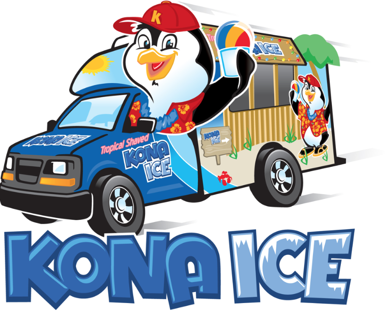 KONA ICE - Kona Ice is a nationally known shaved ice truck and ice cream truck that was founded right here in Florence Kentucky.