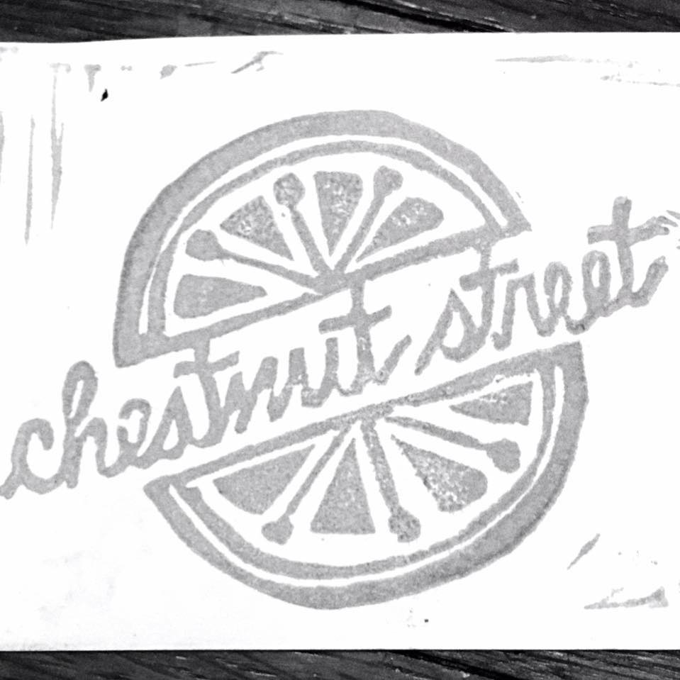 CHESTNUT STREET MARKET - From cutting boards to cutting blocks, Chestnut Street Market has grown from creating imaginative natural recipes to visualizing the love of the garden through handprinted textile and paper goods.Guided by a broad palate, we fuse hand-drawn illustrations of unique produce with hand-pulled printmaking techniques to create interesting visual flavors and textures for all of our products.Chestnut Street makes everything in small batches from our home in Cincinnati. To achieve our products' uniqueness, it may take from two to four weeks to develop by hand and deliver, making every print worth your patience.