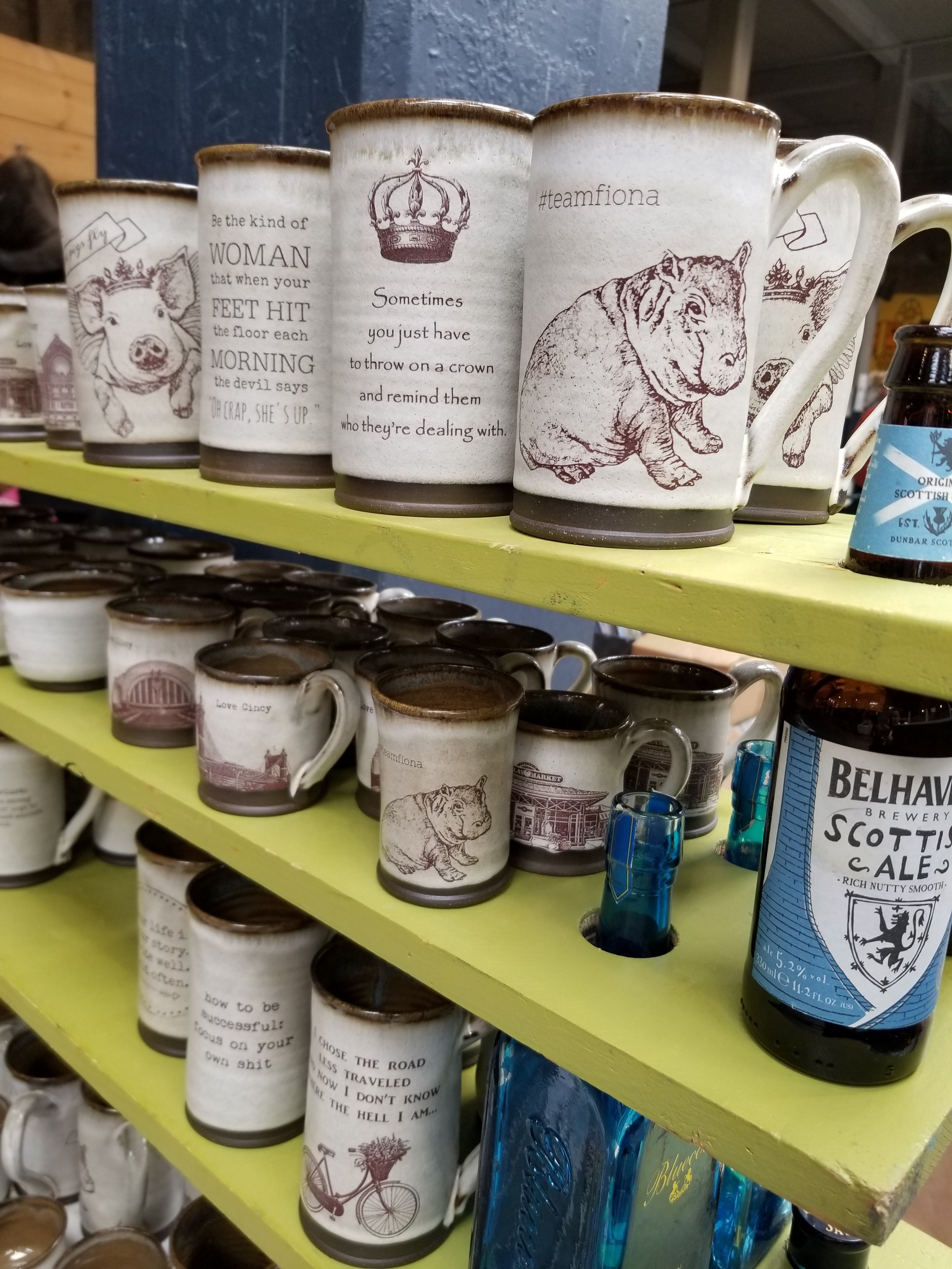 Gardenhouse Pottery Fiona Cup WestSide Market