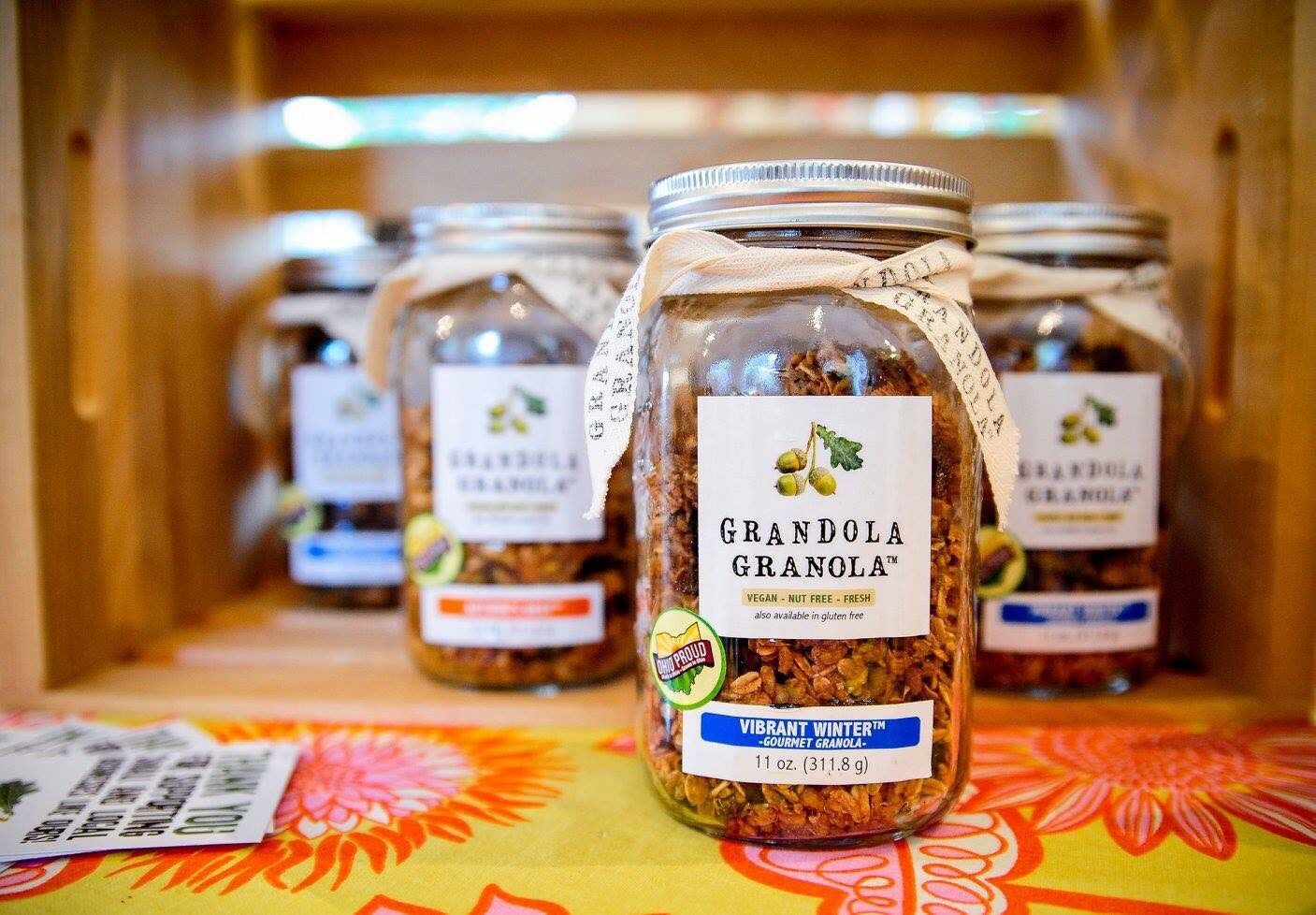 Grandola Granola WestSide market Cincinnati