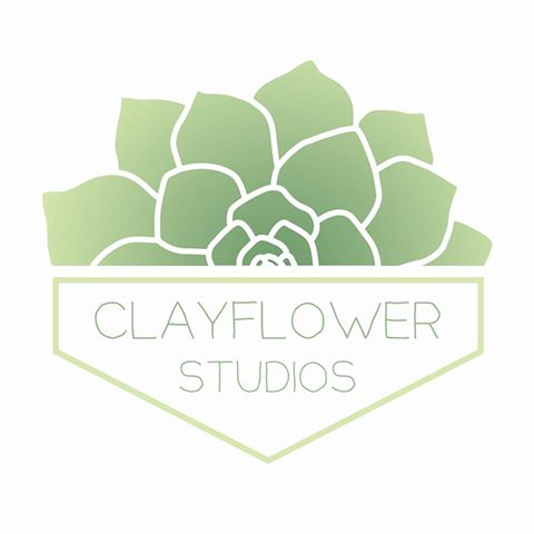 CLAYFLOWER STUDIOS - Handmade ceramics and potted plants.
