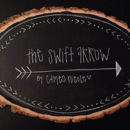 THE SWIFT ARROW - Just a girl sharing her crafting outlet with the world. Spreading warmth and joy into her customizable home decor projects.