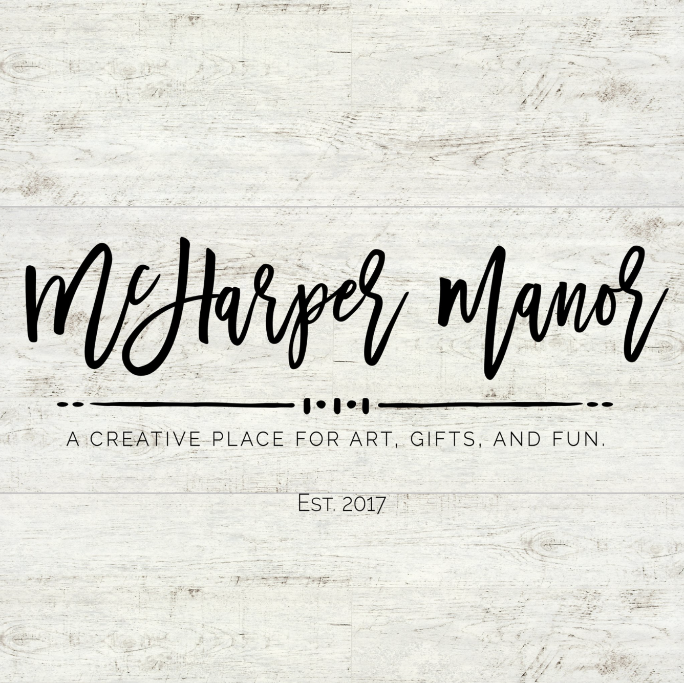 McHARPER MANOR - We're a husband/wife team from Cincinnati Ohio. We started with what we had - a need for extra income after our last baby, and random thrift shop finds. We started upcycling frames, painting & restoring them and filling them with prints of my digitally created art.