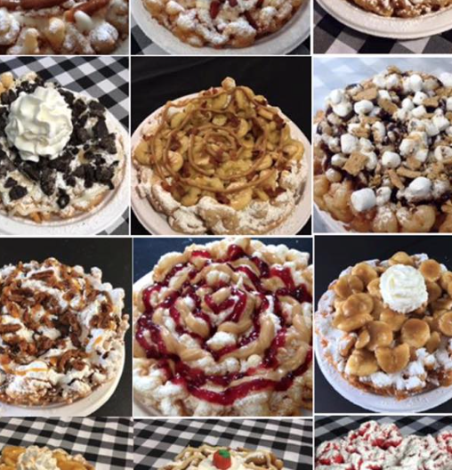 Funnel cakes - Funnel Vision