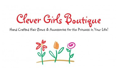 Handcrafted Bows and Accessories - Clever Girls Boutique