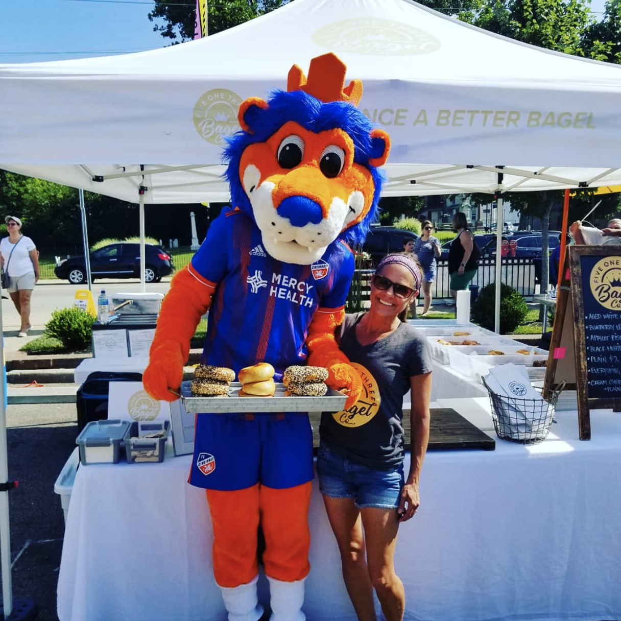 FC Cincinnati and Westside market