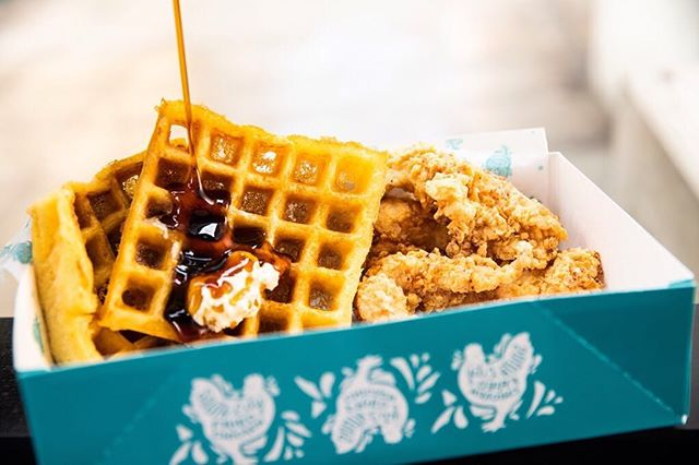 Don't worry - we're drooling, too. 🤤 #ChickenandWaffleBox