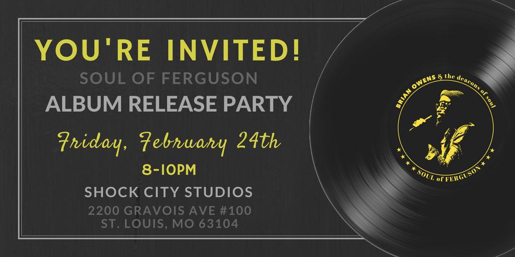 Album Release FB Event