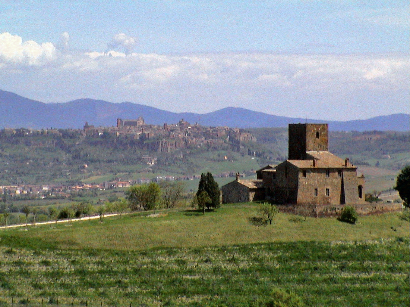 On the road to Orvieto