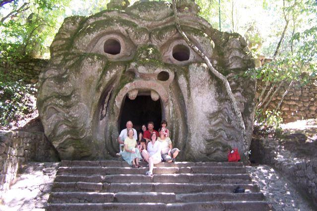 """Bomarzo """"Park of Monsters"""""""