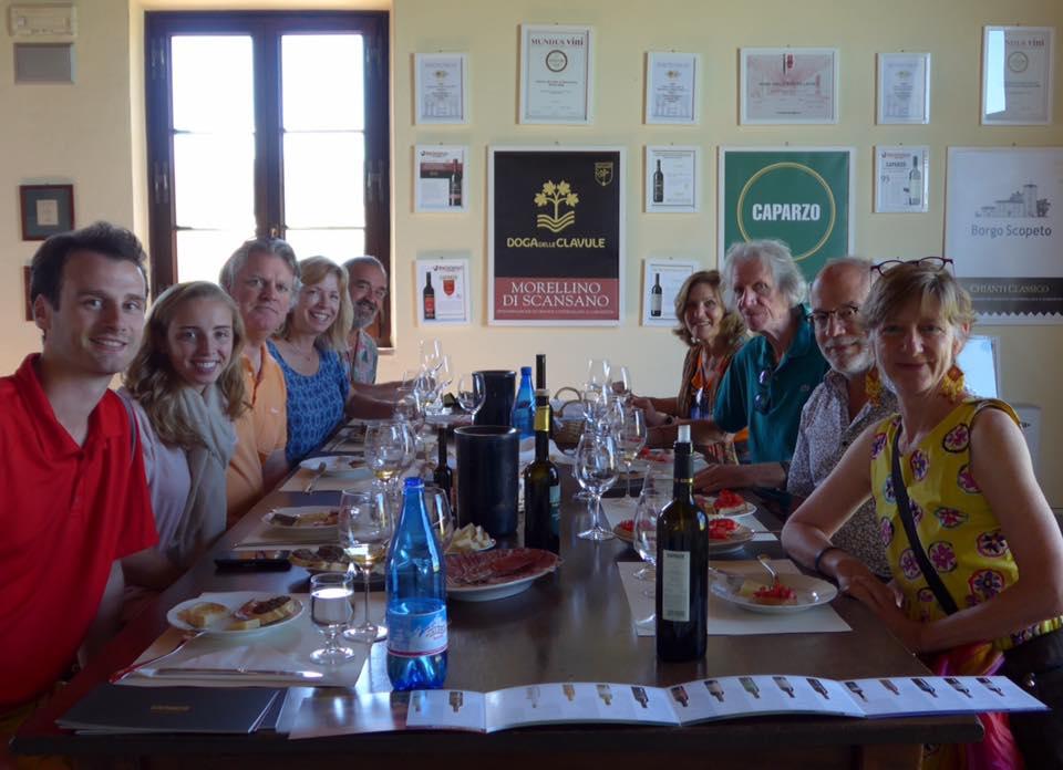 Wine and olive oil tasting