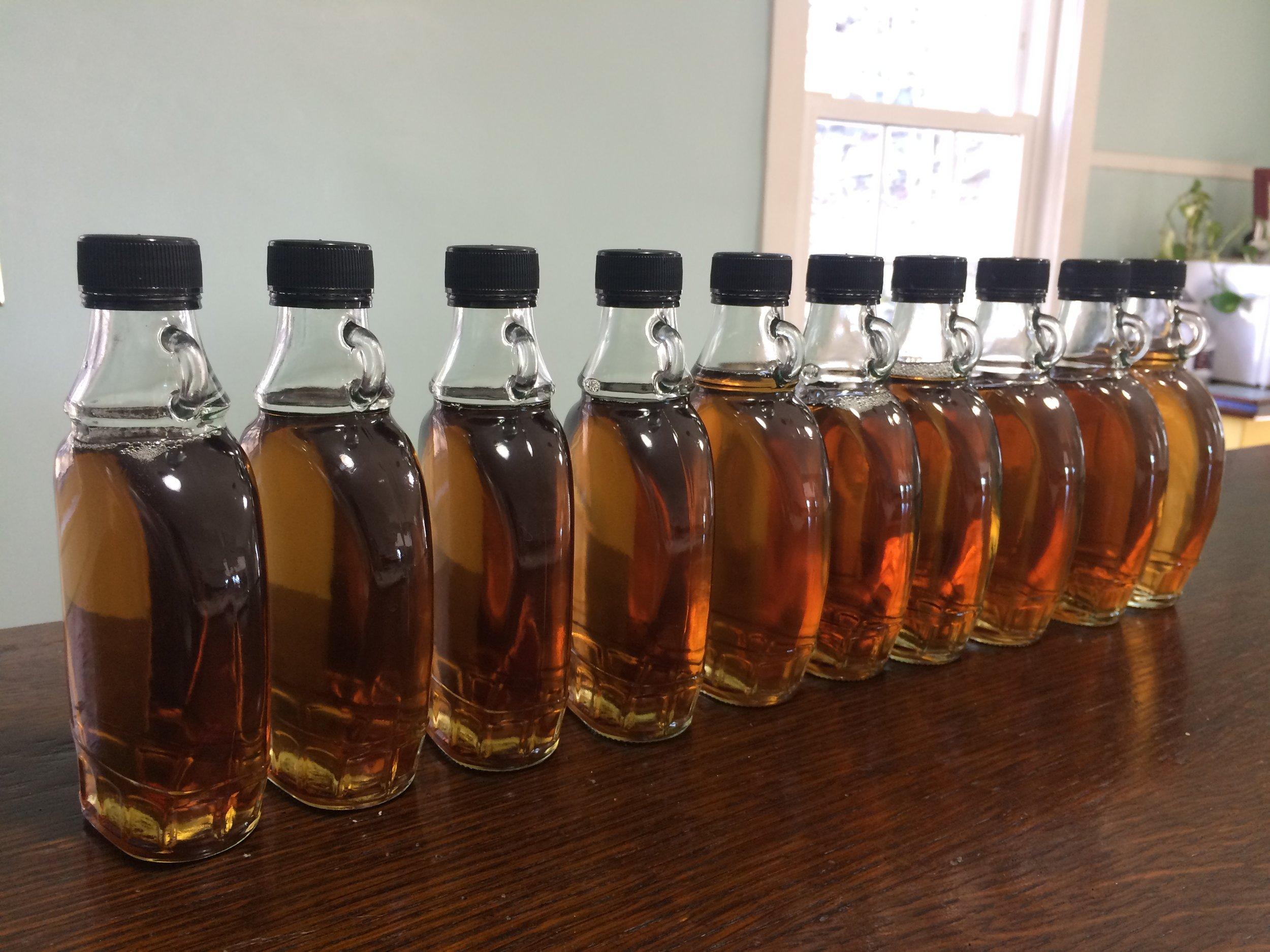 2-21-17 bottles of maple syrup-01.JPG