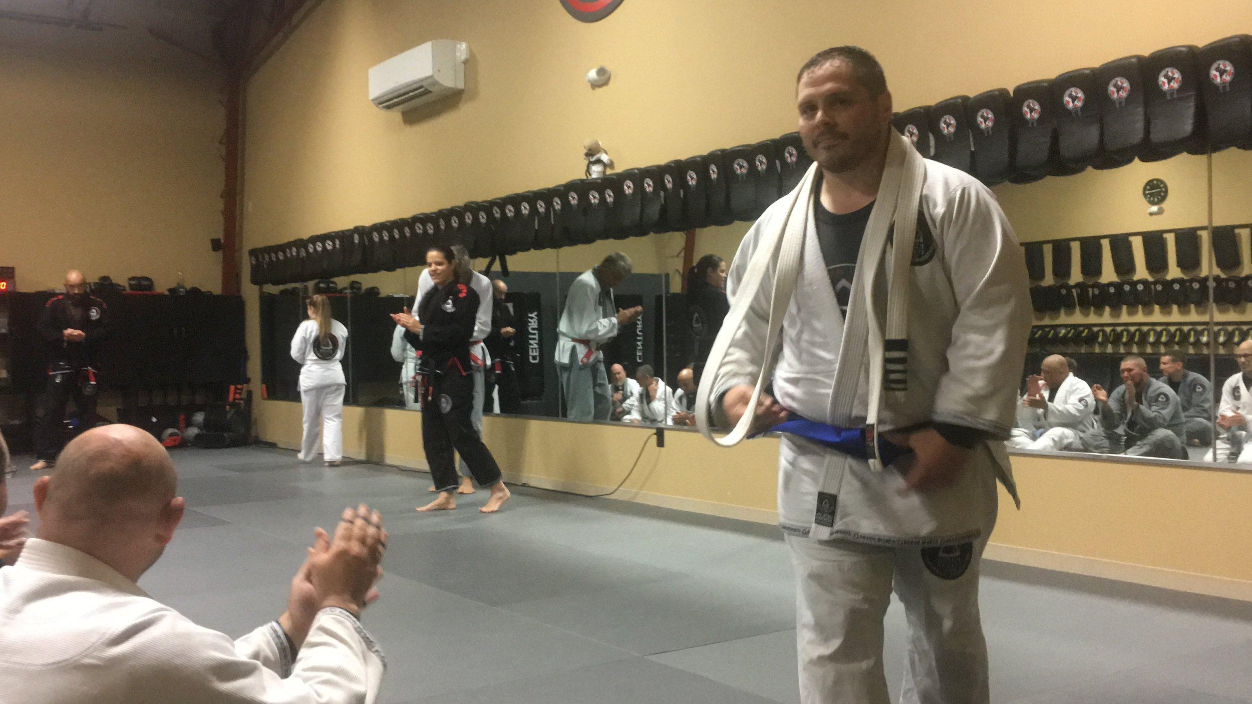 The old belt and the new belt felt like progress.