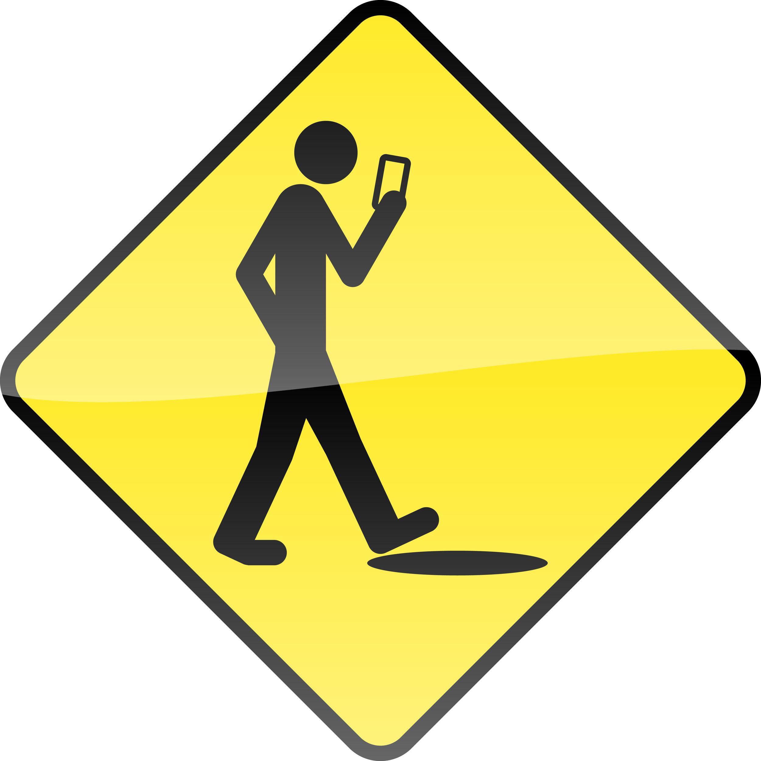 Smart phone-stupid human