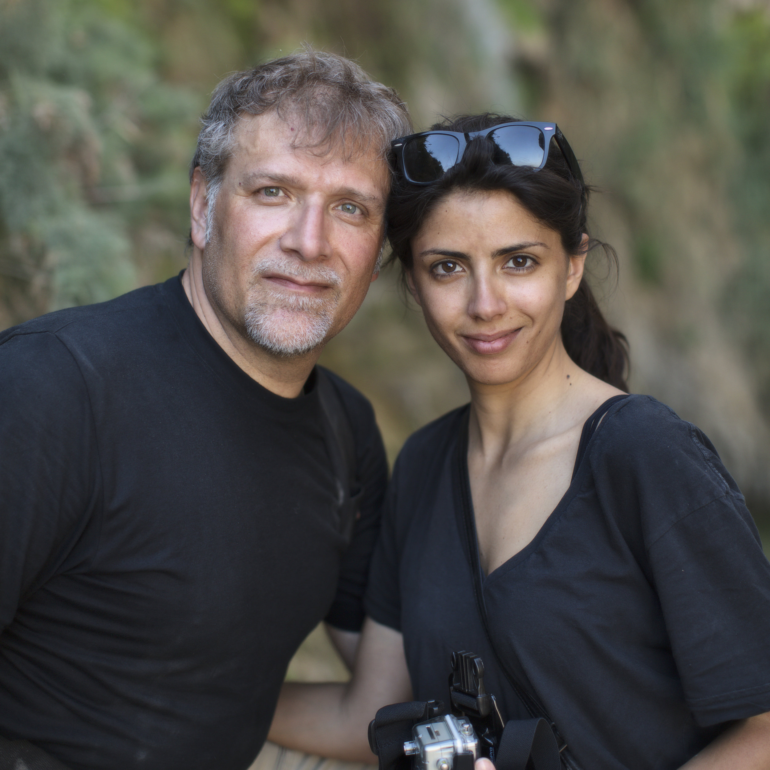 Nico & Stephanie on location in Israel