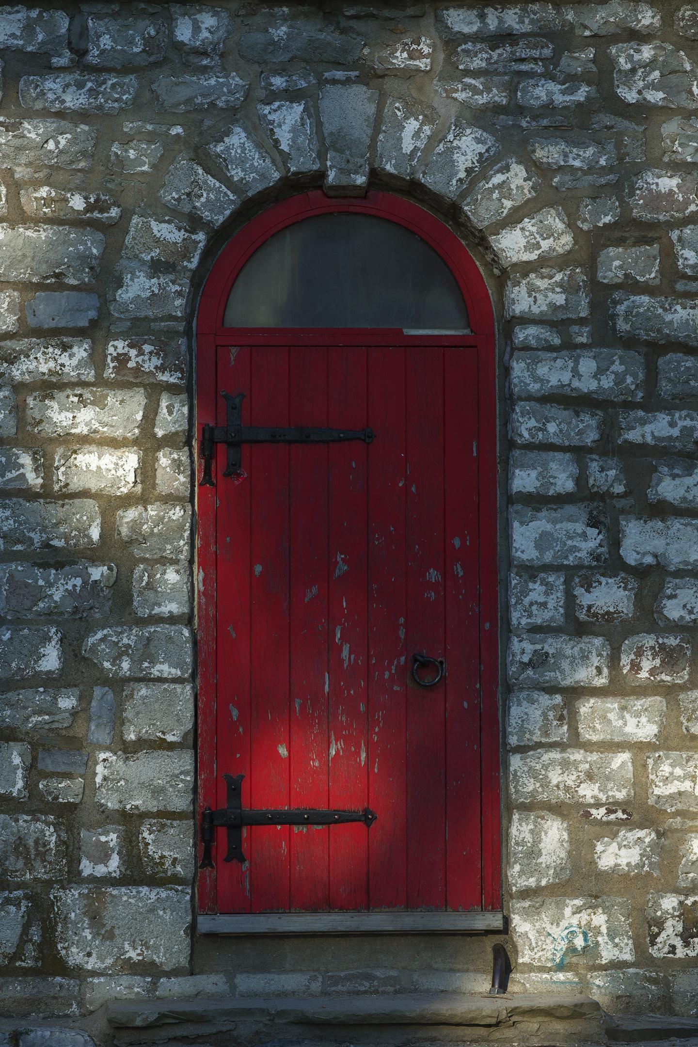 - behind the red door
