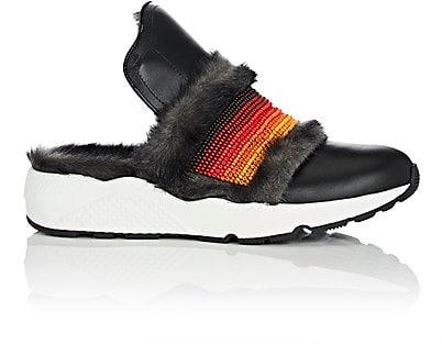 No Ka'Oi  Chief Leather Slip-On Sneakers - $530