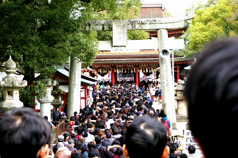 Dazaifu Tenmangu (太宰府天満宮) is Fukuoka's most famous shrine.