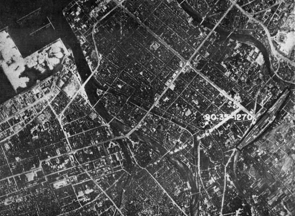 Reconnaissance photo of Fukuoka