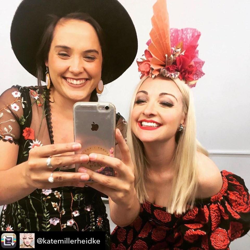 Jessica Hitchcock and Kate Miller-Heidke