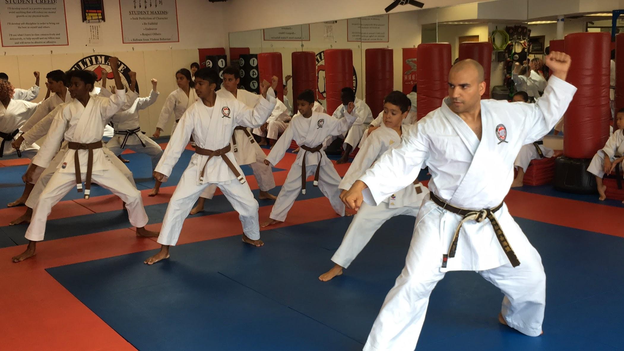 Advanced Karate with Sensei.JPG
