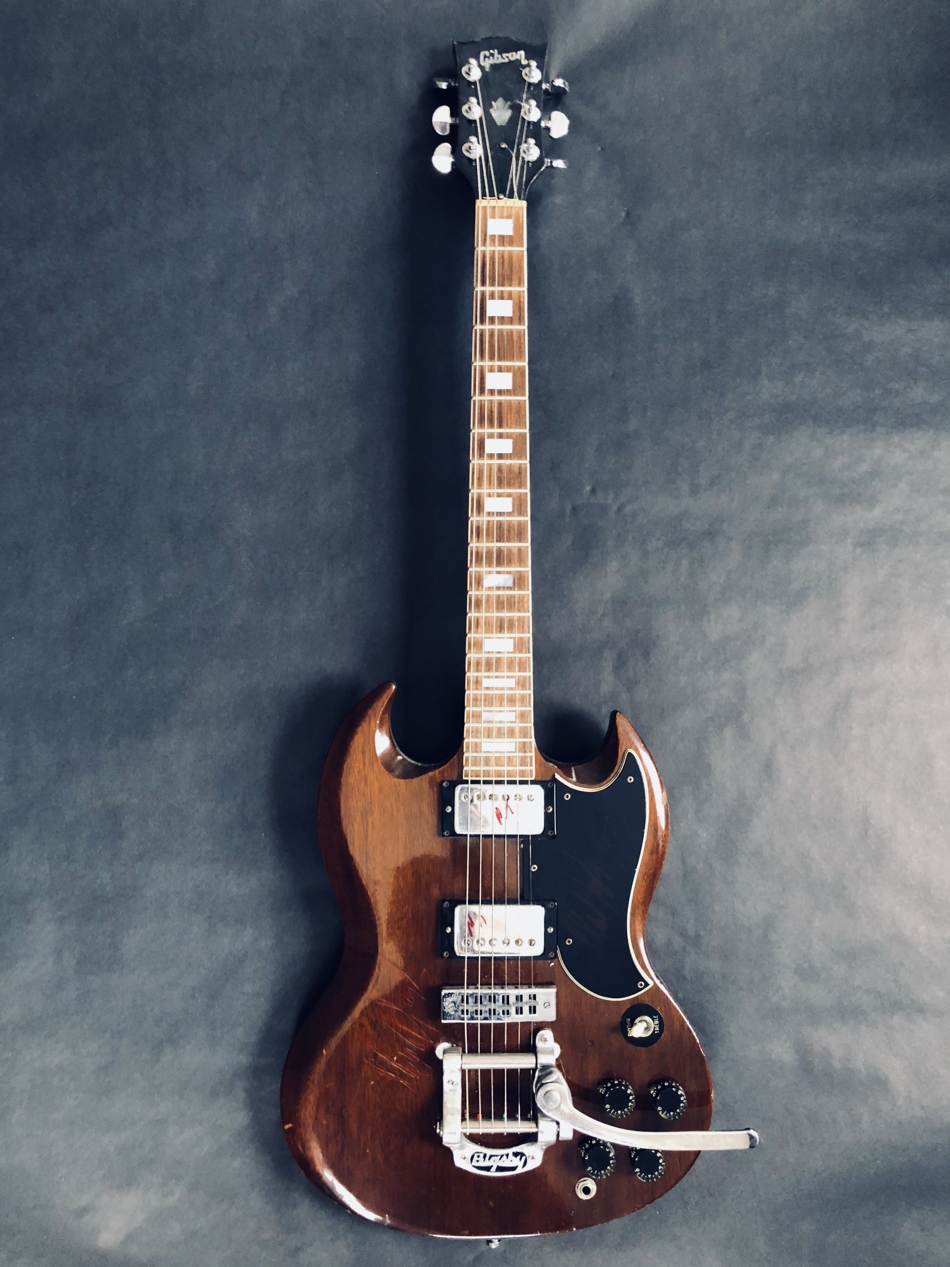 Gibson SG Standard (autographed by Mick Taylor)