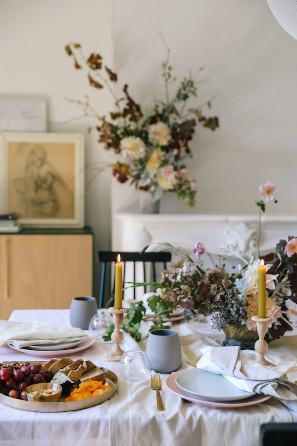 BEYOND THE PUMPKIN - Simple Fall + Thanksgiving Tablescape Inspiration
