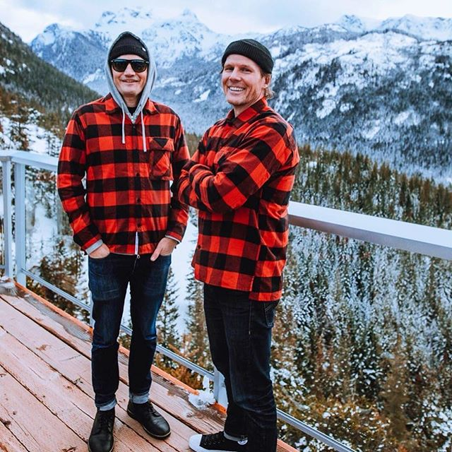 No one looks better in plaid than these two! Pete Emes & Mike Grimes (aka Small Town DJs) have been names Calgary's Best Local DJ! However, these guys are far from just local DJs. The pair have made a name for themselves playing bass-heavy bangers all over the world. From Mad Decent Block Party to Shambhala, they've done it all!  You can find them on SoundCloud @ soundcloud.com/smalltowndjs