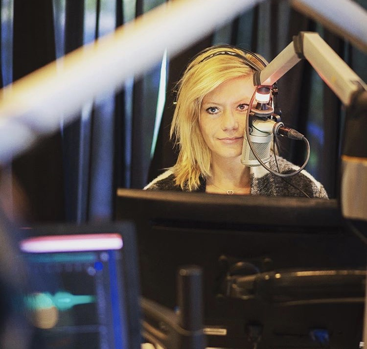 — Seanna's home away from home: the X92.9 studio