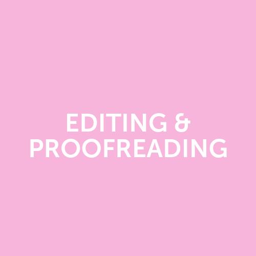 Editing & Proofreading Perth