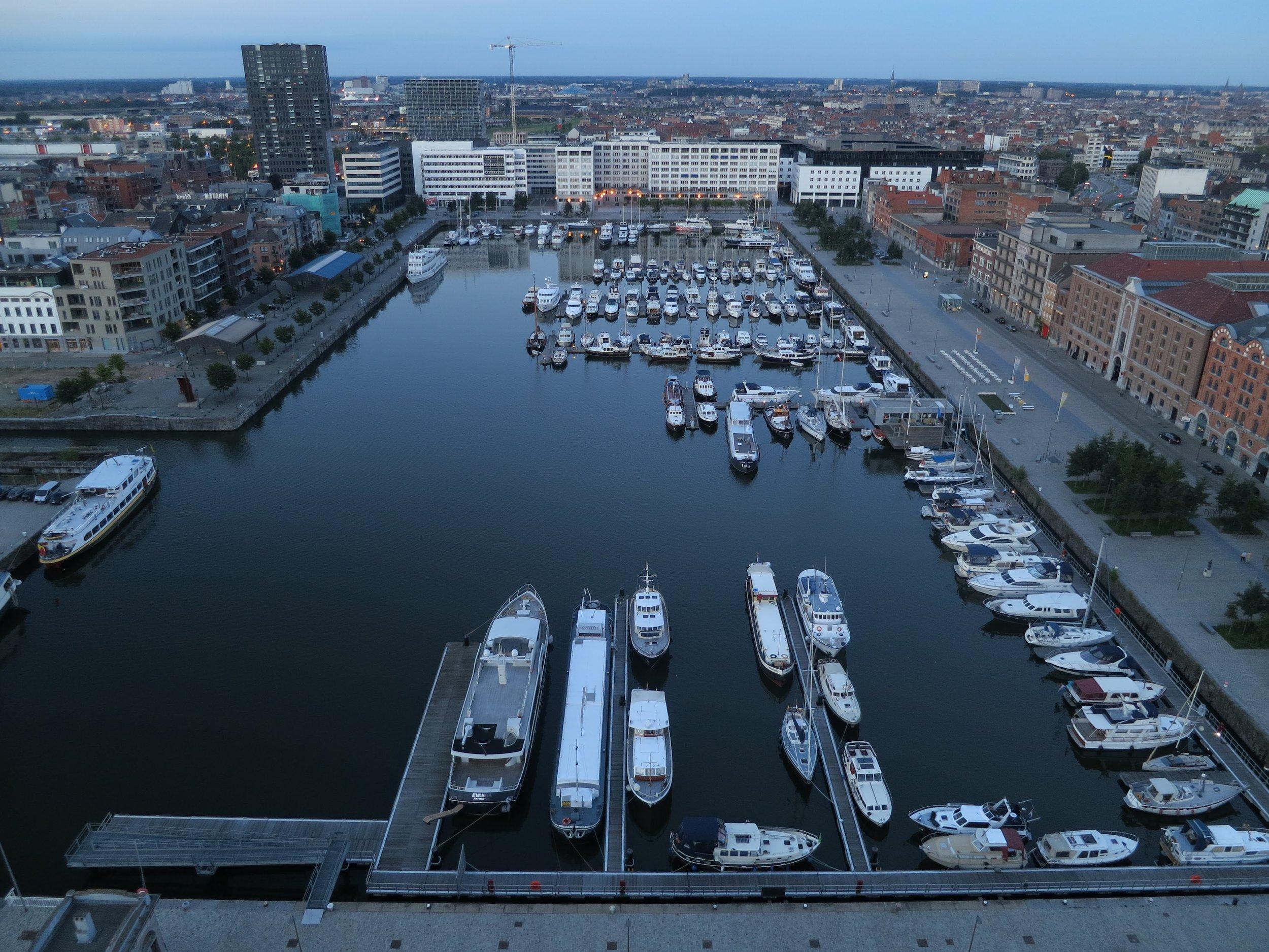 The Eilandje in Antwerp