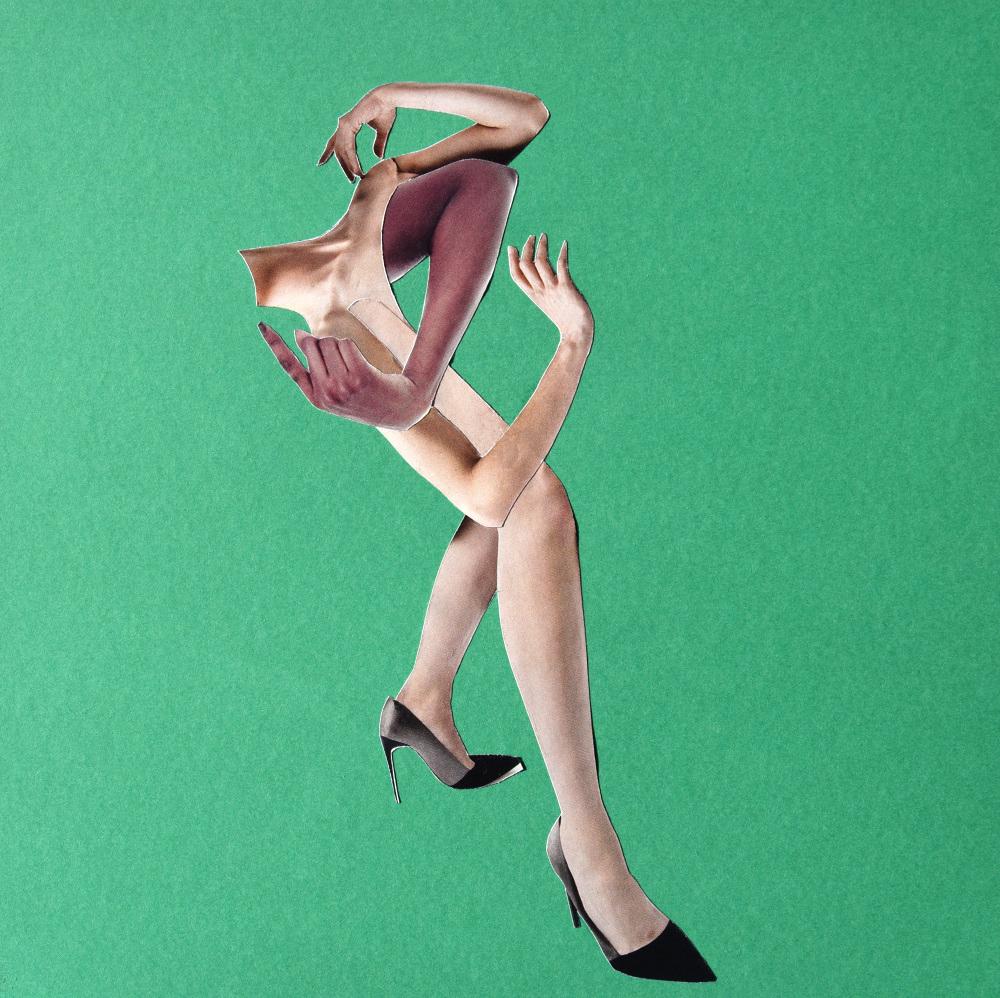 Fashion week got me like….  Hand Cut Paper Collage