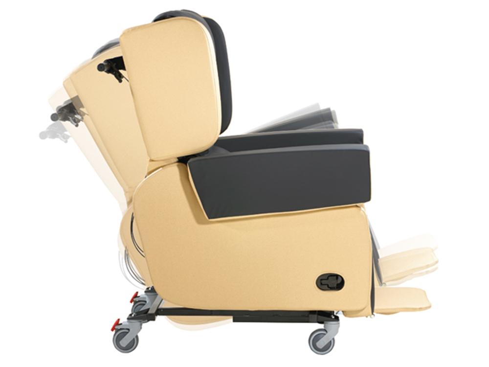OSKA® Pressure Care Seating_OSKA Vertex Pressure Care Seating_Tilt in space