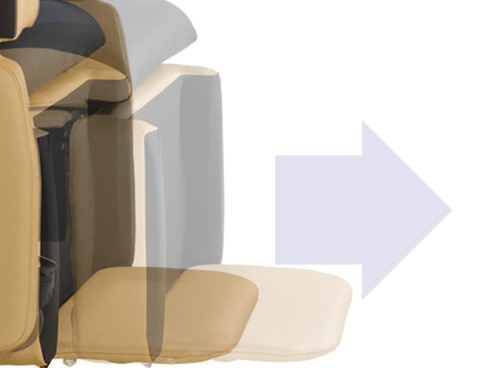 OSKA® Pressure Care Seating_OSKA Vertex Pressure Care Seating_Adjustable leg rest