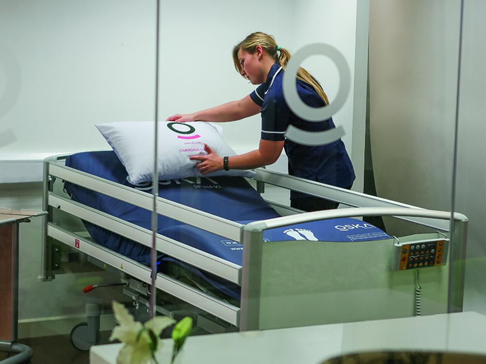 OSKA Pressure Care Experts Nurse