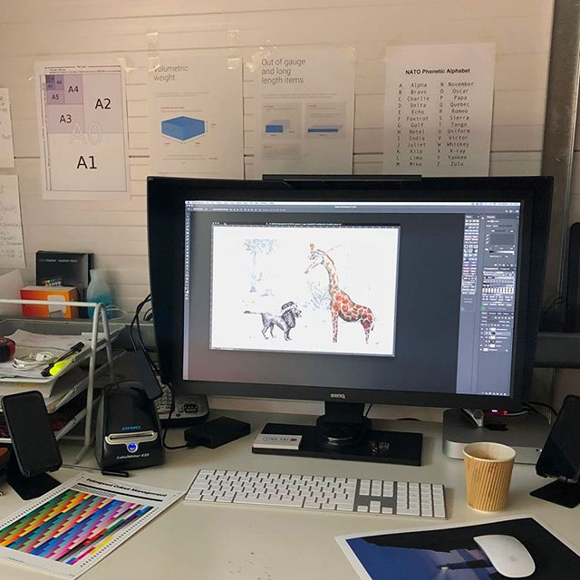 Yesterday we worked with Susanna Hughes to create her beautifully illustrated artbook named Return to Sender. Thank you to @andyfarrerphoto and Carlo @fineartink. Watch this space for the finished artbook, until then here is a sneak peak.
