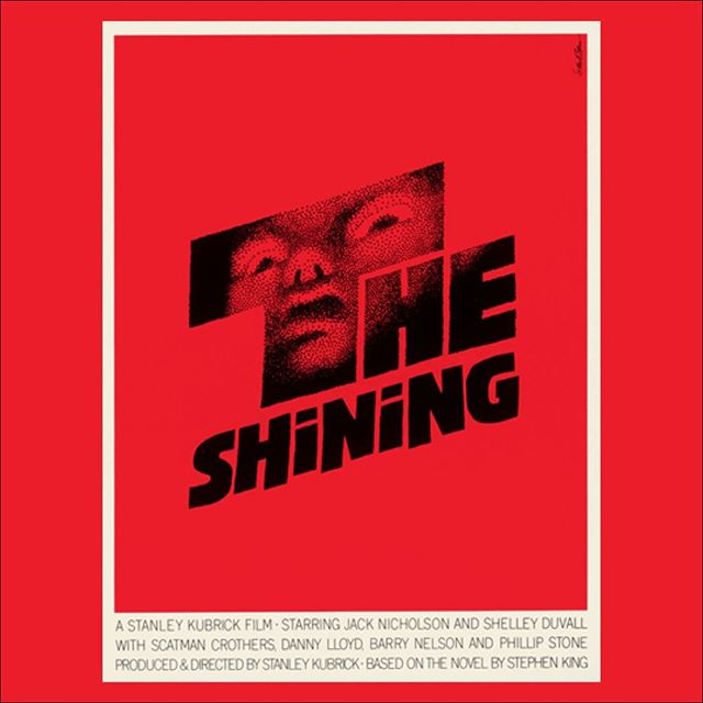 In the studio this week we are revisiting the works of iconic designer Saul Bass. (The Shining. 1980, dir. Stanley Kubrick)
