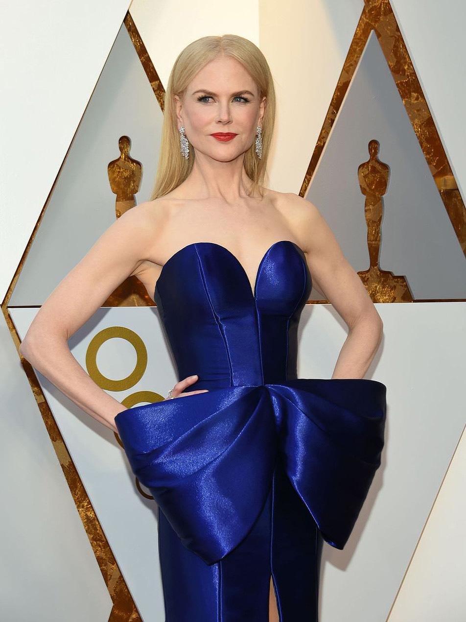 Nicole Kidman in Harry Winston