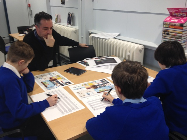 Testing designs and prototypes with school children in a school was vital to the projects success