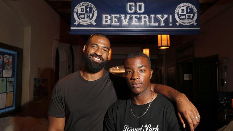 Photo: LA Times, Spencer Paysinger (left) and Daniel Ezra (right)