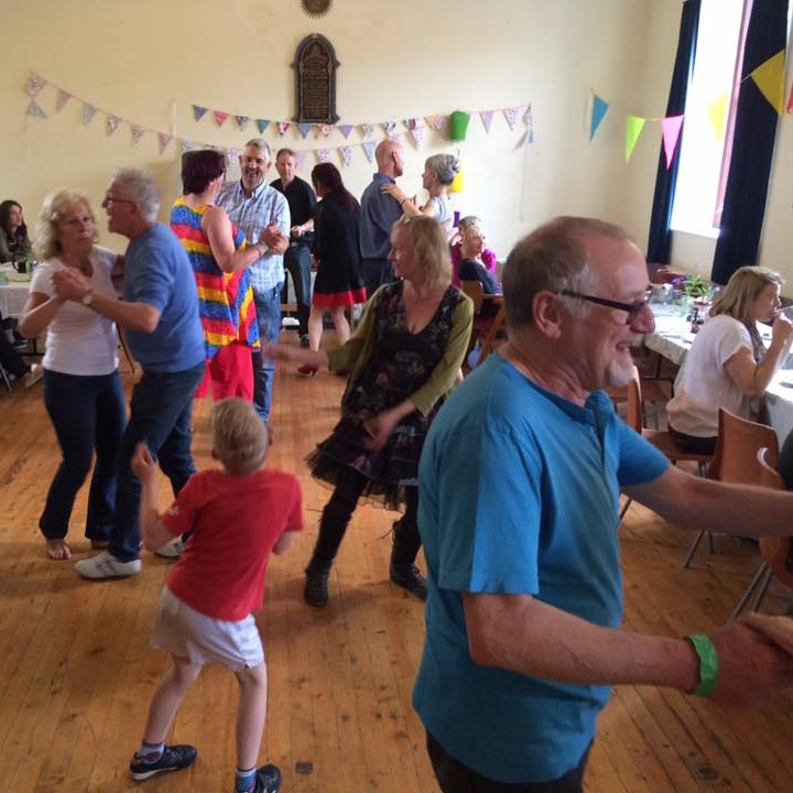 Tea DAnce - In aid of Moniaive Playcare. Cakes! Tea! Expert tuition from Blue!