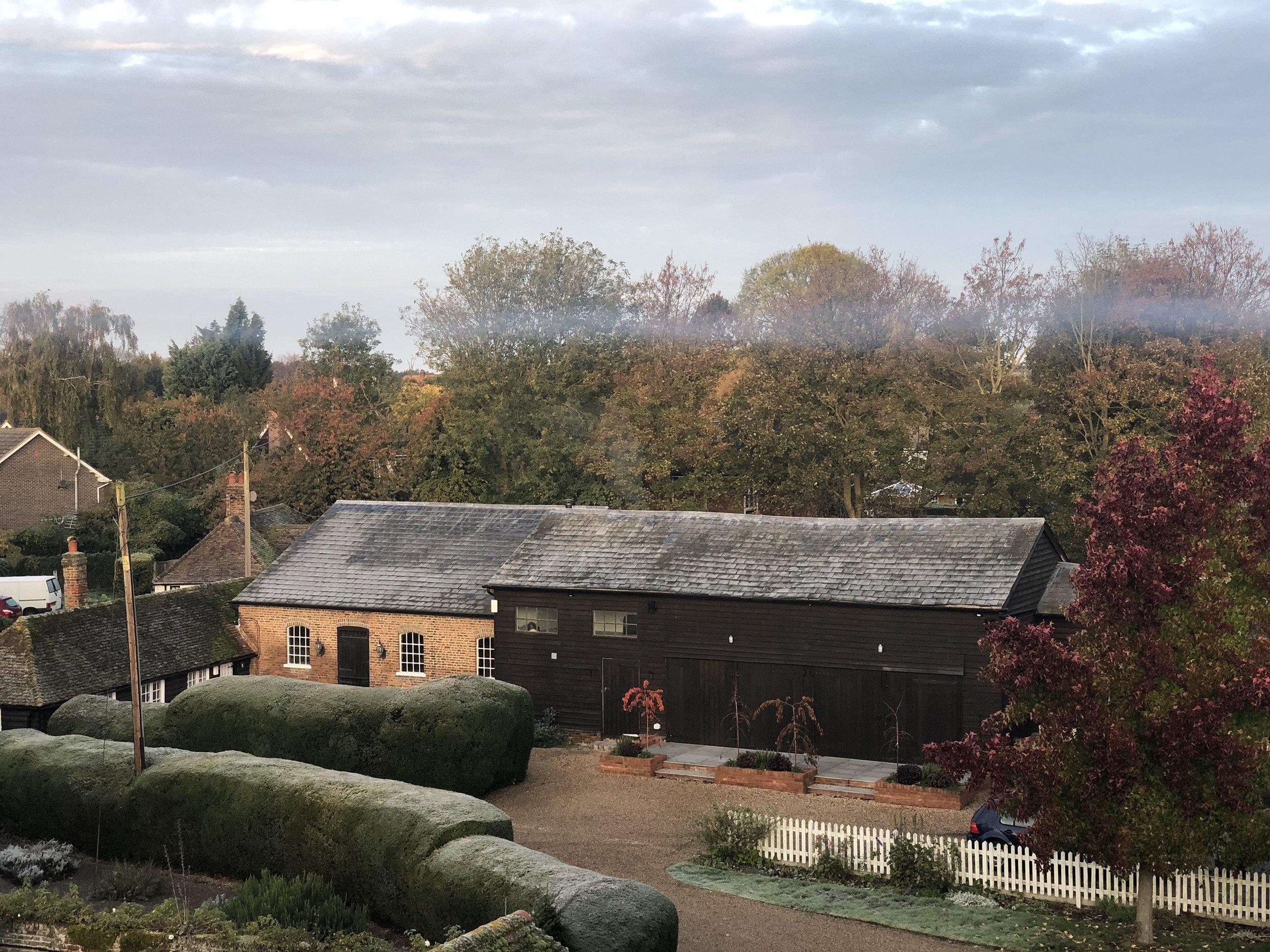 the studio - a converted barn.JPG