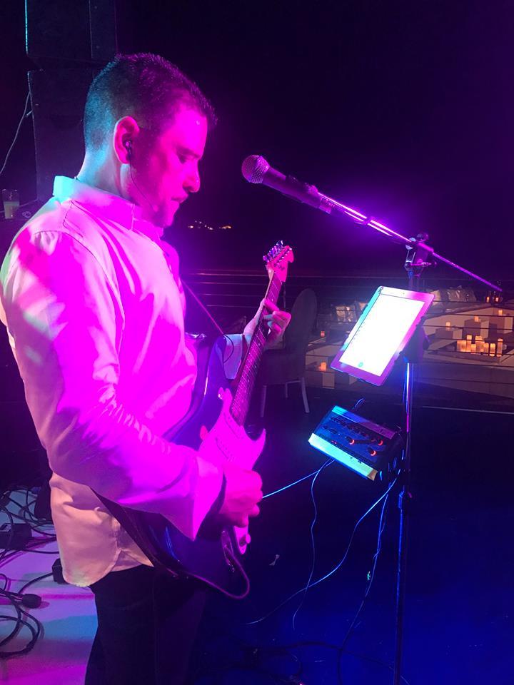 Chris Amadeus - Lead Guitarist/Vocalist