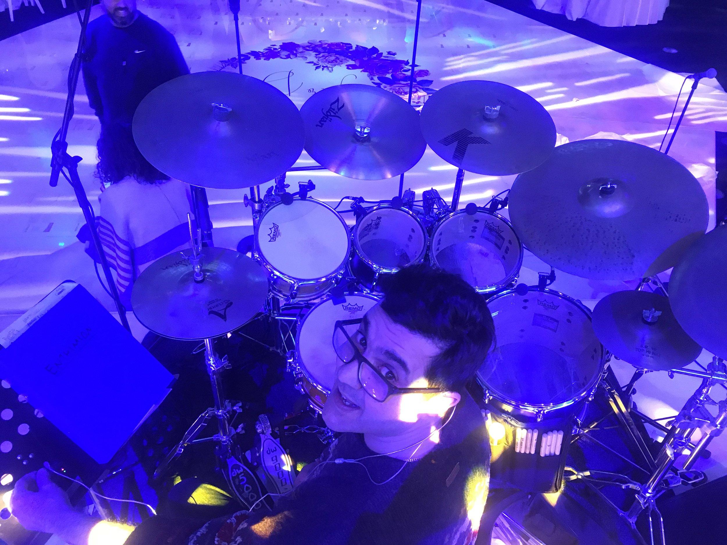 Harry Christou - Drums     Χαρη Χριστου - Τύμπανα