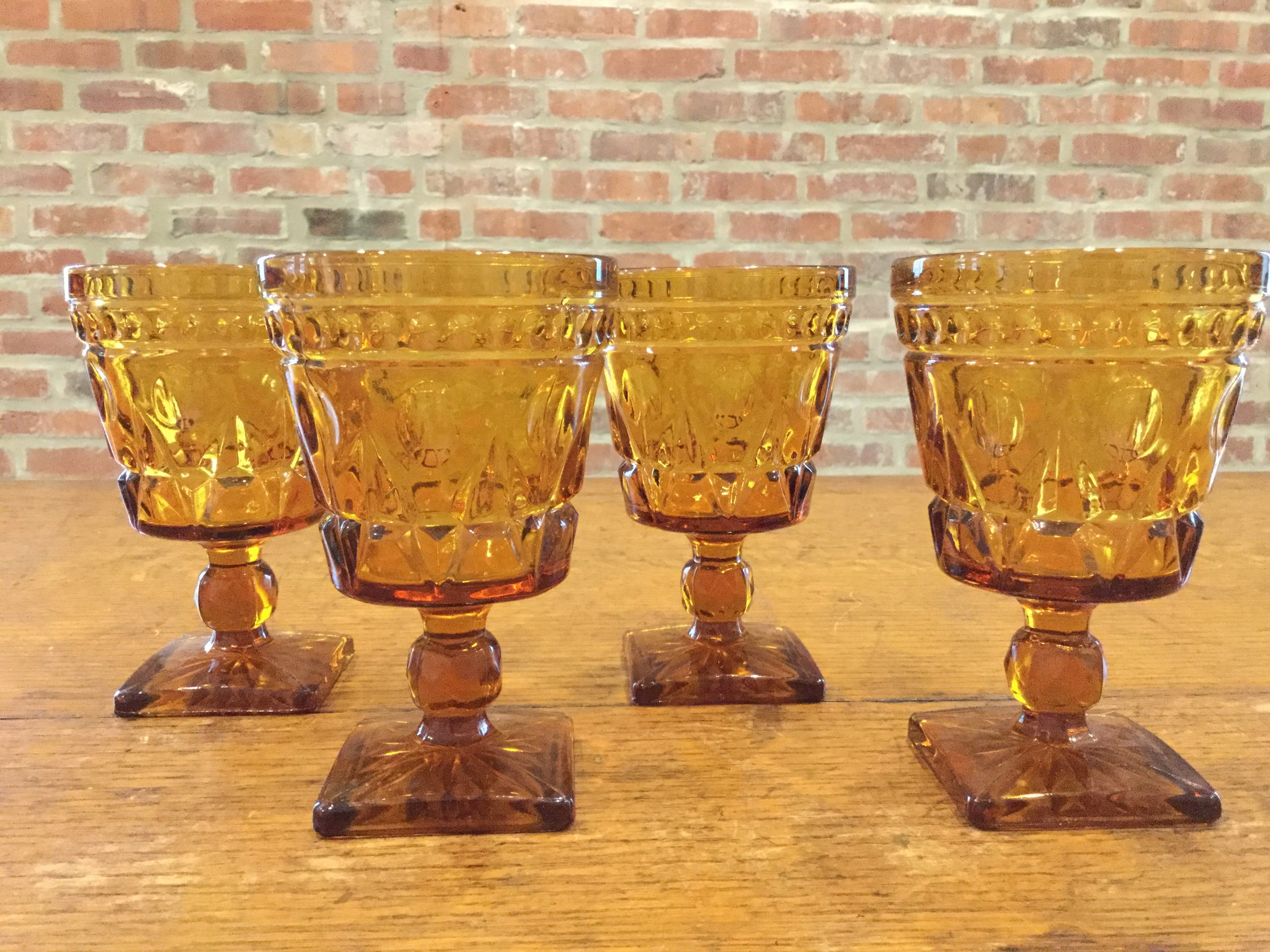 Assorted Colored Water Goblets - $2.00 each