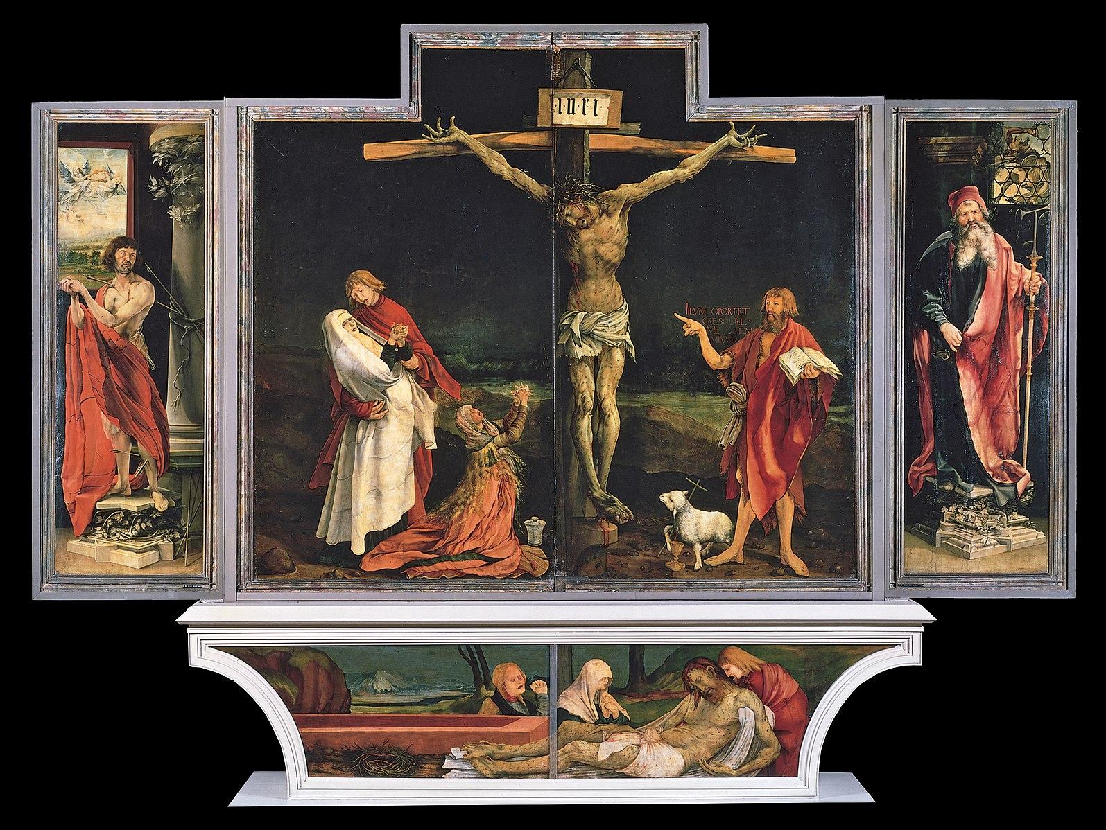 Matthias Grünewald,  Isenheim Altarpiece