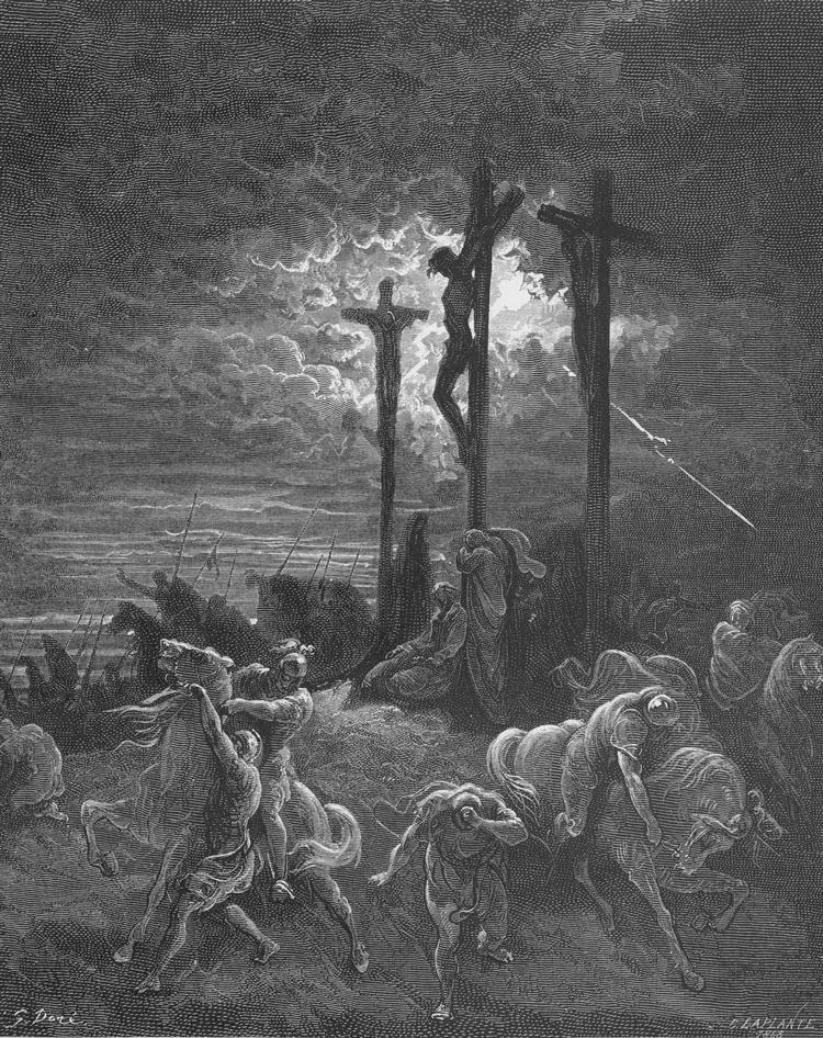 Gustave Doré,  The Curcifixion .