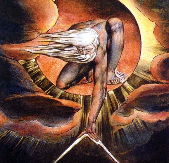 William Blake.  Ancient of Days .