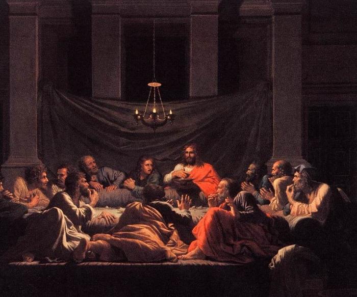 Nicholas Poussin. The Eucharist.